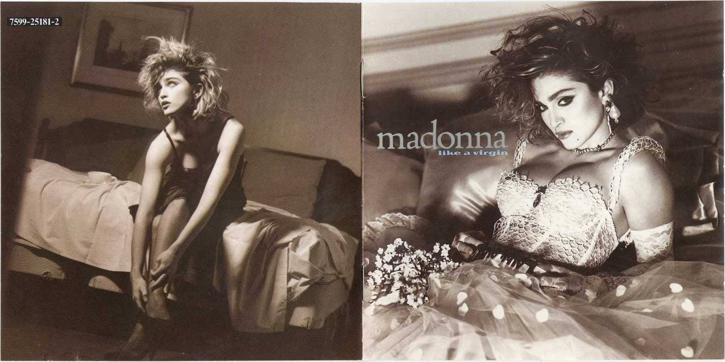 Madonna forum forum index gt madonna cd covers gt like a virgin album